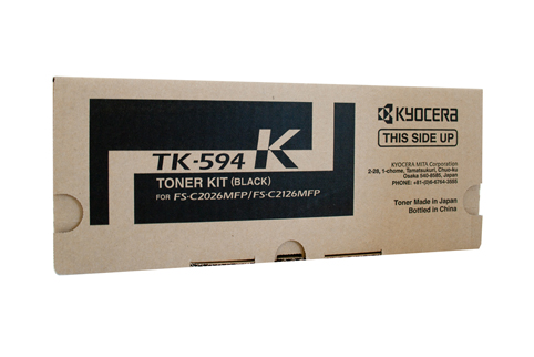 Genuine Kyocera TK-594 Black toner Cartridge