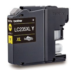 Genuine Brother LC235XLY (Yellow) ink cartridge