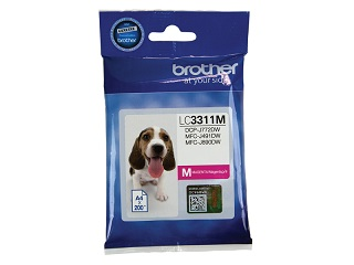 Genuine Brother LC3311M (Magenta) ink cartridge