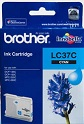 Genuine Brother LC37C (Cyan) ink cartridge