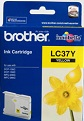 Genuine Brother LC37Y (Yellow) ink cartridge