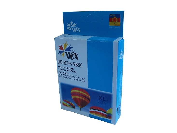 Compatible Brother LC39C (Cyan) XL High Capacity ink cartridge