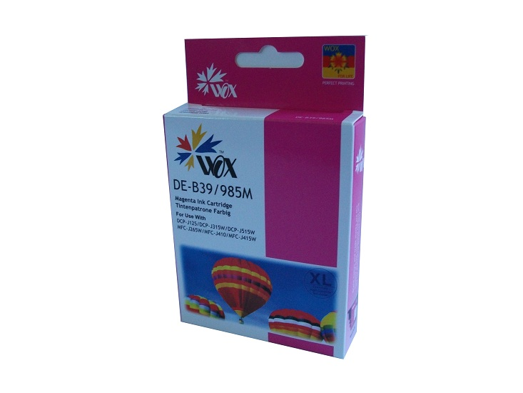 Compatible Brother LC39M (Magenta)XL High Capacity ink cartridge