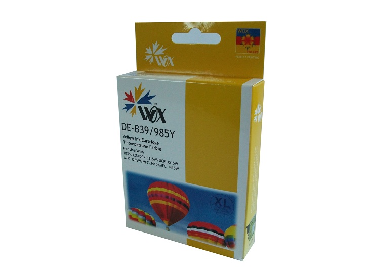 Compatible Brother LC39Y (Yellow) XL High Capacity ink cartridge