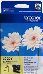 Genuine Brother LC39Y (Yellow) ink cartridge