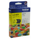 Genuine Brother LC40Y (Yellow) ink cartridge