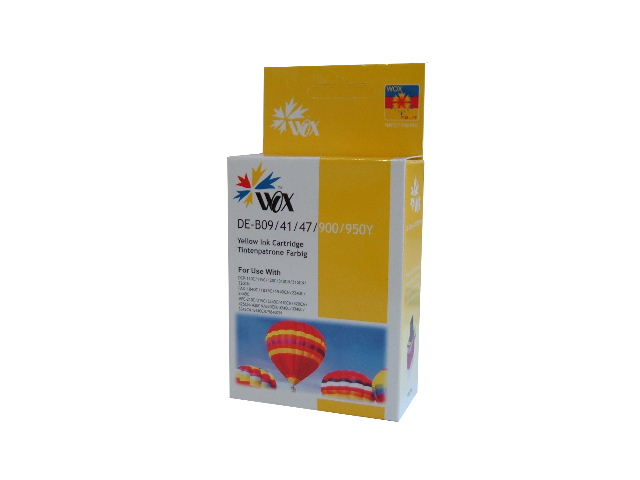 Compatible Brother LC47Y (Yellow) ink cartridge