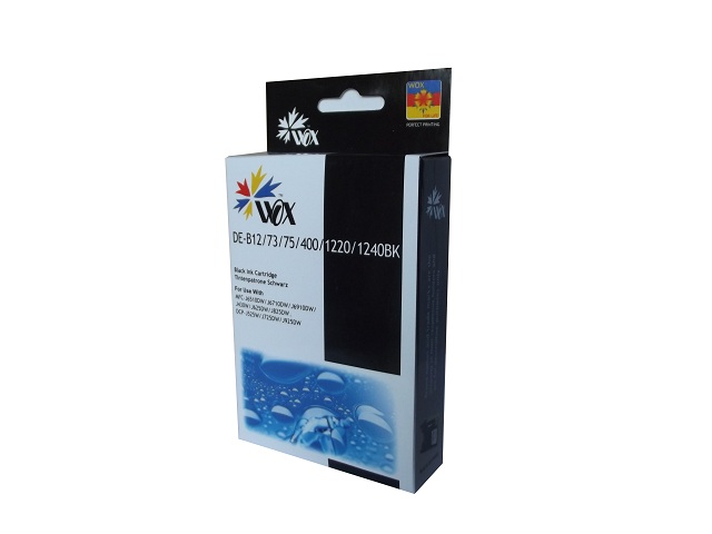 Compatible Brother LC73 Black ink cartridge