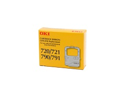 Genuine Oki 720/21/90/91 Black Ribbon