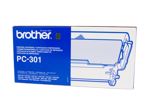 Genuine Brother PC301 cartridge
