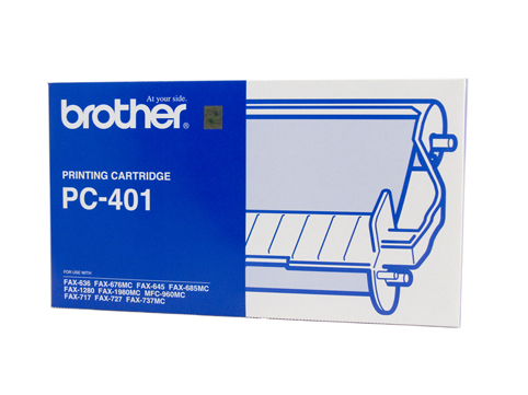 Genuine Brother PC401 cartridge