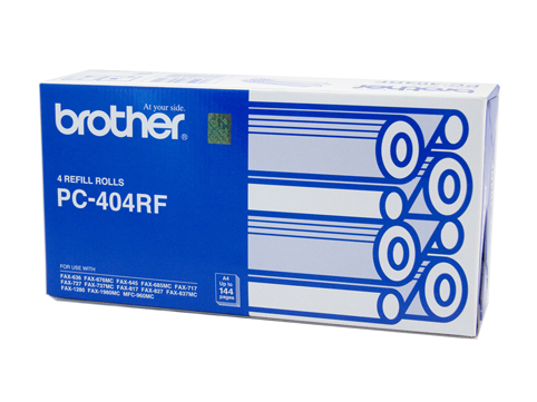 Genuine Brother PC404RF Refill Rolls