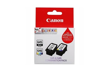 Genuine Canon PG645 & CL646 2 Pack Combo