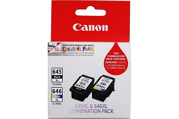 Genuine Canon PG645XL & CL646XL 2 Pack Combo