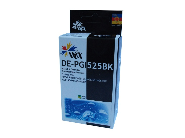 Compatible Canon PGI-525BK (Black) ink cartridge