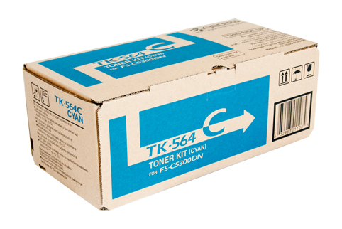Genuine Kyocera TK564 Cyan toner Cartridge