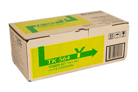 Genuine Kyocera TK564 Yellow toner Cartridge