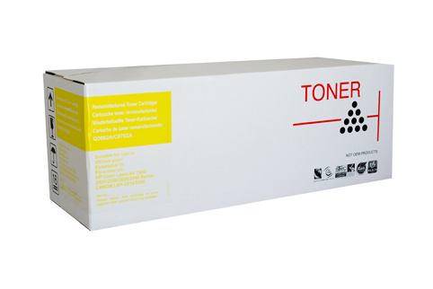 Remanufactured HP121A Yellow Toner cartridge (C9702A)