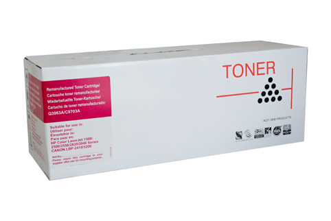 Remanufactured HP121A Magenta Toner cartridge (C9703A)